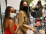 Angelina Jolie stocks up on groceries with daughter Zahara