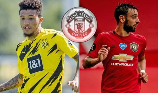 Man Utd may need Jadon Sancho to repeat Bruno Fernandes transfer gesture