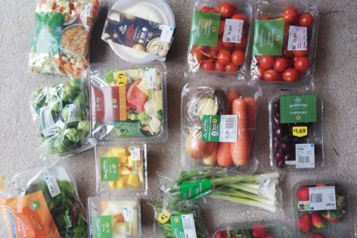 Savvy shopper uses her phone to buy £15 of food for just £3 from Morrisons
