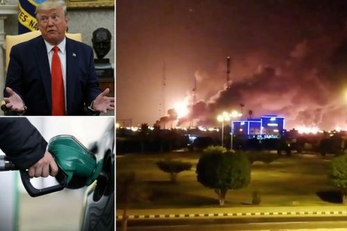Donald Trump warns US is 'locked and loaded' after drone attacks in Saudi Arabia