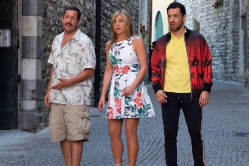 Jennfier Aniston, Adam Sandler comedy Murder Mystery proves mega-hit for Netflix