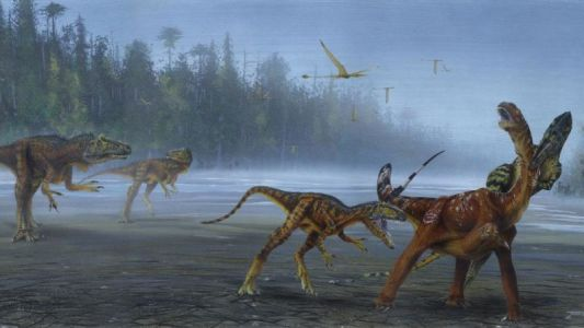 Carnivorous Dinosaur Discovered in the US Was a True Jurassic Nightmare