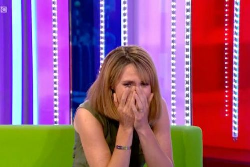 Alex Jones breaks down in tears on The One Show as she confirms two-week break