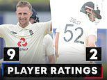 FIRST TEST RATINGS: Joe Root's double century was one of the great innings by an England batsman