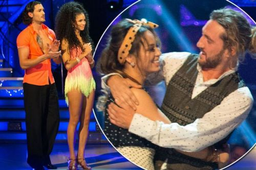 Who left Strictly Come Dancing tonight? Vick Hope and Graziano di Prima lose out to Seann and Katya in dance-off