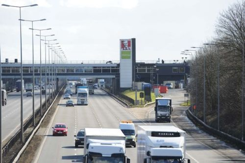 Service station on M1 split in half by 'ridiculous' Leicester lockdown boundary