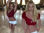 Britney Spears marvels at her recent weight loss as she shows off her toned torso in dance video