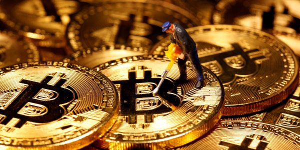 Bitcoin-mining stocks sink as the cryptocurrency struggles to reclaim $50,000 level