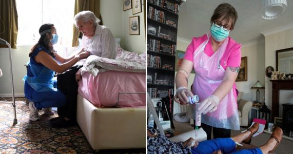 Fears grow for care homes as coronavirus cases rise across UK