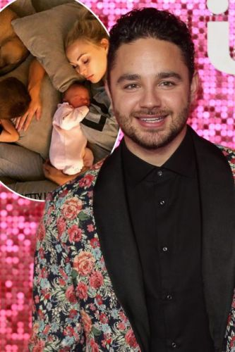 Adam Thomas' wife Caroline gives birth: Emmerdale actor and partner welcome second child and share adorable first photo