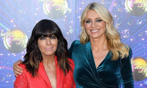 Tess Daly and Claudia Winkleman reunited for Strictly filming
