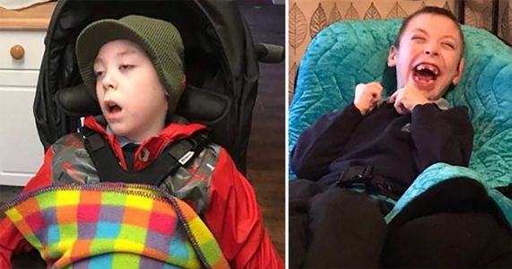 Remarkable transformation of seriously ill boy after he's treated with cannabis oil