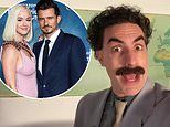 Sacha Baron Cohen jokes about Orlando Bloom's nudes as Borat to wish pal Katy Perry a happy birthday