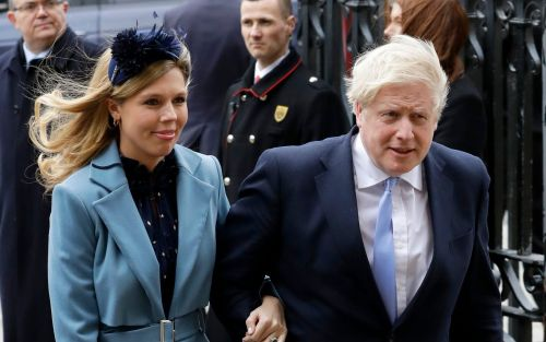 Boris Johnson's pregnant fiancee Carrie Symonds suffers coronavirus symptoms