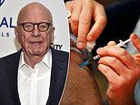 Fox execs fear a shake-up as Rupert Murdoch returns to the US thanks to vaccine courtesy of NHS
