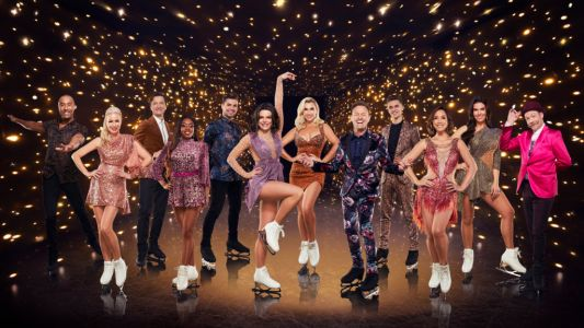 What time is Dancing On Ice tonight and who is skating this week?