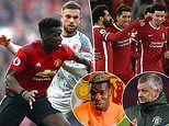 Paul Pogba insists Manchester United are underdogs heading into their crunch clash with Liverpool