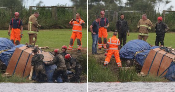 Body of man missing for 30 years found in car submerged in river