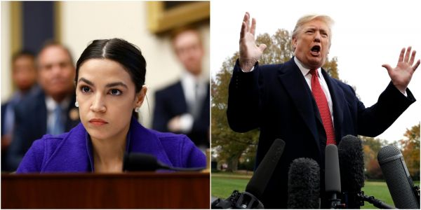 Alexandria Ocasio-Cortez blasts Trump administration for cuts to food stamps, sharing that her family 'might've just starved' without them