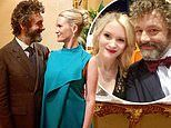 Michael Sheen, 50, reveals his new Swedish actress girlfriend, 25, is expecting a baby