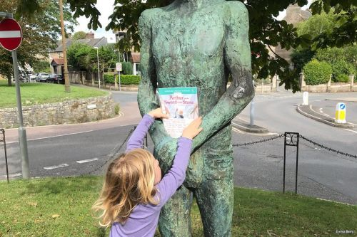 Can you find the books hidden around Dorset this weekend?