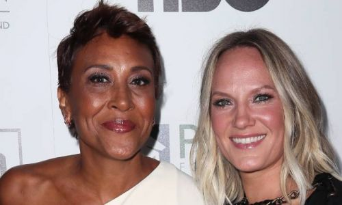 Robin Roberts sings in sweet tribute to partner Amber as they celebrate relationship milestone