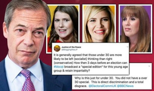 BBC Question Time fury: Britons rage at exclusion of older voters - 'Discrimination!'