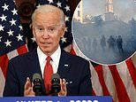 Biden slams Trump for tear-gassing peaceful protesters