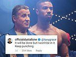 Creed III star and director Michael B. Jordan explains by Sylvester Stallone won't be in the sequel