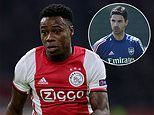 Mikel Arteta 'identifies Ajax winger Quincy Promes as the man to kick-start his Arsenal revolution'