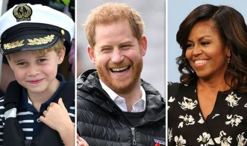 Michelle Obama's adorable story about Prince Harry and Prince George revealed