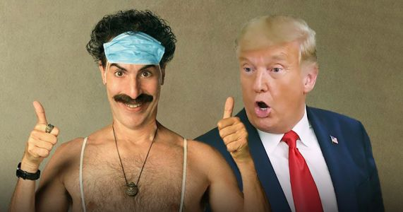 Sacha Baron Cohen thanks Donald Trump for the 'free publicity' as he slates comedian