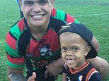 Boy whose mother shared footage of him wanting to end his life will lead out an NRL team