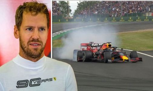 Sebastian Vettel makes Max Verstappen crash admission after British Grand Prix
