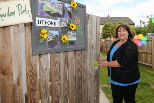 Newly designed garden opens at School Close in Kirkcudbright