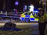 Woman 'in her 50s' is killed in a north London horror crash