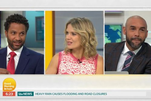 GMB's Sean Fletcher makes sly dig at Piers Morgan after 'stealing' his tie