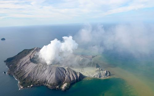 New Zealand's White Island volcano erupts, in pictures