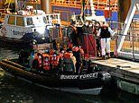 Border Force catch up to 30 migrants during Channel dash