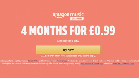 Get four months of Amazon Music Unlimited for 99p in early Prime Day deal