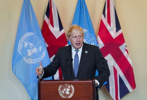Boris Johnson Says 'Adolescent' Humanity Must Stop 'Trashing' Planet In Climate Speech