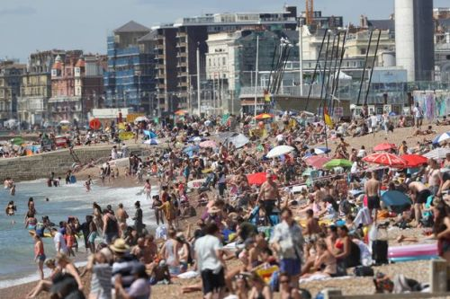 Met Office says 36.4C Furnace Friday has brought hottest August day in 17 years
