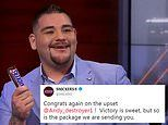 Andy Ruiz Jr to be rewarded for stunning Anthony Joshua triumph with a special Snickers package