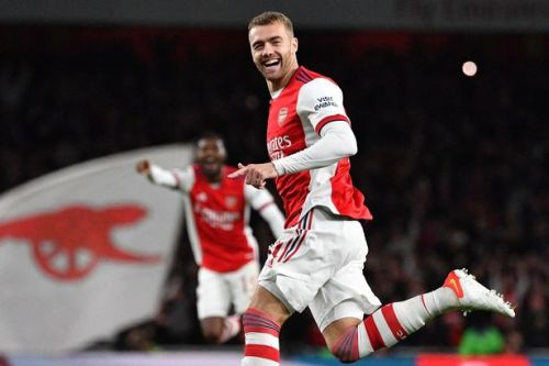 Calum Chambers emerges as Arsenal's unlikely hero after ending two-year wait