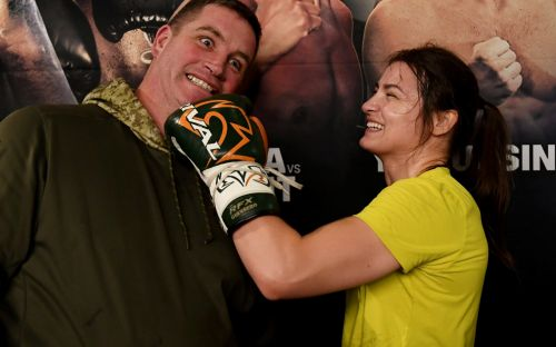 Katie Taylor wants to make Boston a home from home as she defends world titles