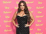 Vicky Pattison dons a busty black dress while Amy Hart sparkles in silver at ITV Palooza in London