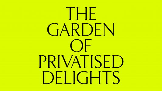 British Pavilion; The Garden of Privatised Delights