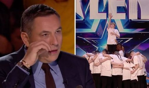 Britain's Got Talent's David Walliams left in tears by inspiring dance troupe: 'Powerful'