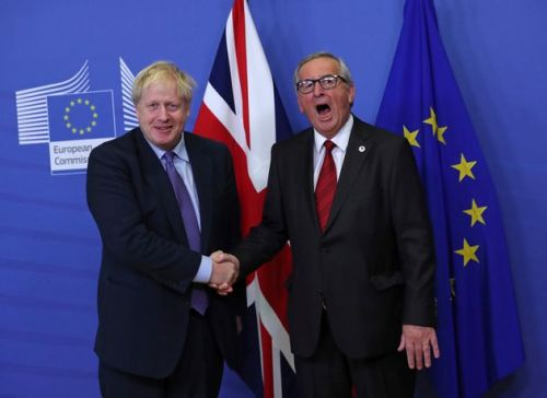 Jean Claude-Juncker Says 'Have A Good Time' As Boris Johnson Battles For Brexit Deal Votes