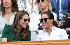 We all missed Kate Middleton comforting Meghan Markle at Wimbledon